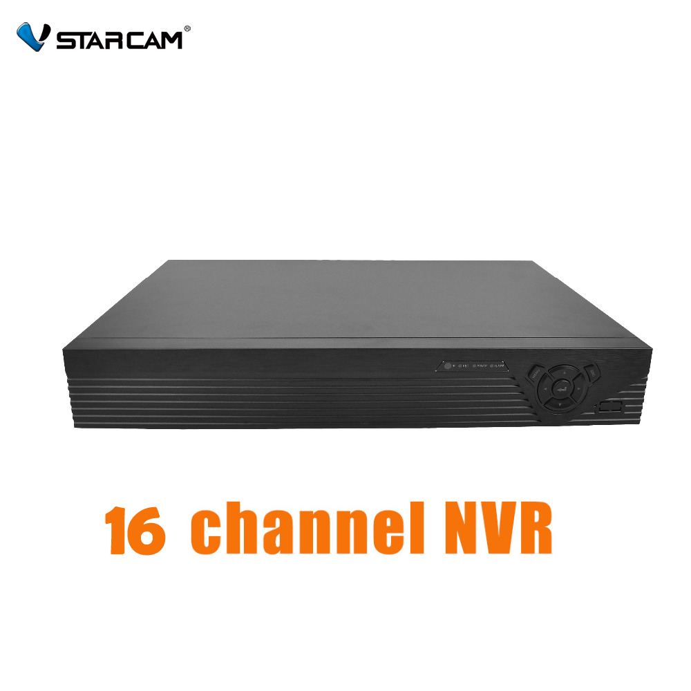 VStarcam 16CH Onvif 2 4 NVR Wifi Network Video Recorder Face Recognition HDMI Video Audio Output