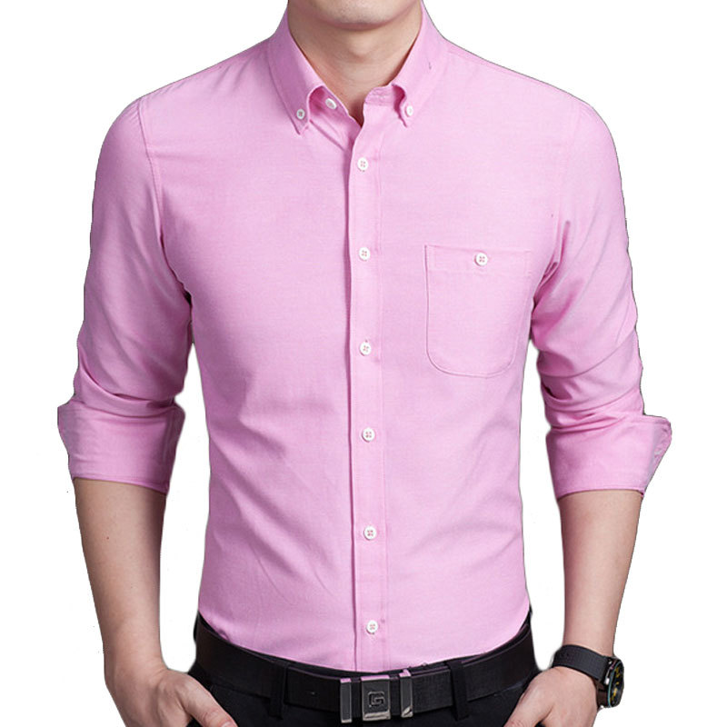 Popular Pink Dress Shirt for Men-Buy Cheap Pink Dress Shirt for ...
