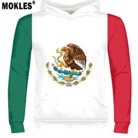 THE UNITED STATES OF MEXICO male logo free custom name number mex pullover nation flag mx spanish mexican print photo clothing