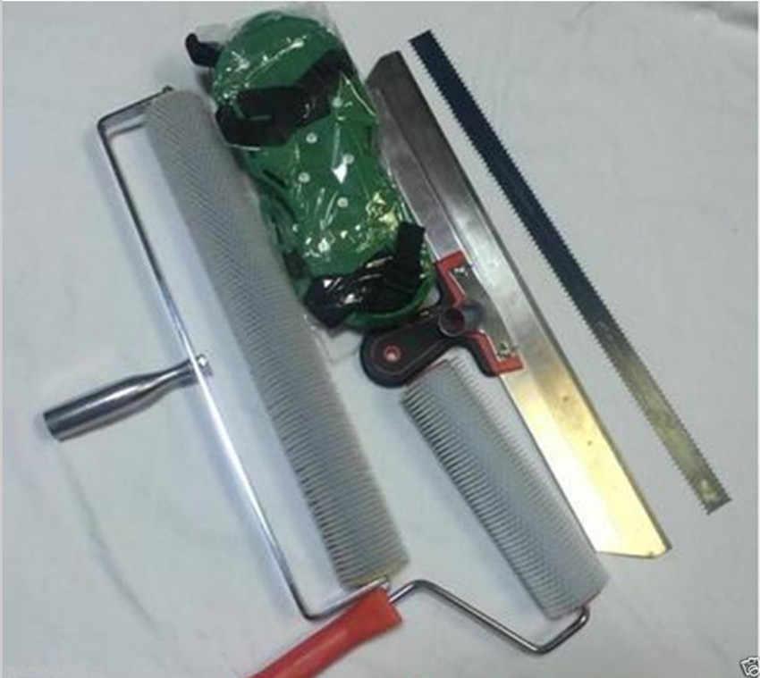 Cement Self leveling Kit Epoxy Floor Paint Roller Blade