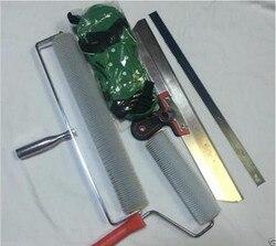 Zement Selbst nivellierung Kit Epoxy Boden Malen Roller Klinge Spike Bau Werkzeug Hohe qualität NE
