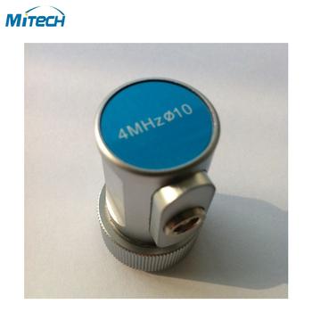 4 MHz 10mm prosto wiązki sonda przetwornika defekt ultradźwiękowy miernik tanie i dobre opinie 4MHz 10mm MiTeCH Straight Beam Probe Transducer