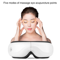 Magnetic Eye Massager Machine Physiotherapy Infrared Heating Massage Glasses Health Care Air Compression Vibration Relaxation