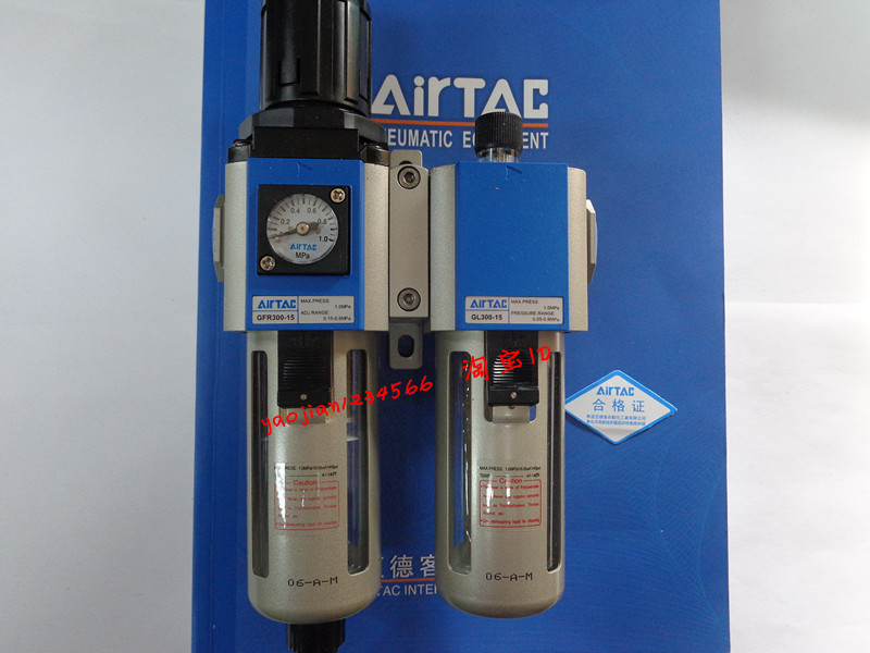 AirTac GFC300-15-F1 series of genuine original source. japan smc original genuine source of gas source processor ad402 04 end of the automatic drain water separator