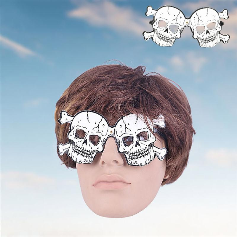 a0283ecd538 4pcs Halloween Disguise Glasses Party Supplies Party Favors Pumpkin Bat  Skull Ghost Paper Glasses-in Party DIY Decorations from Home   Garden on ...