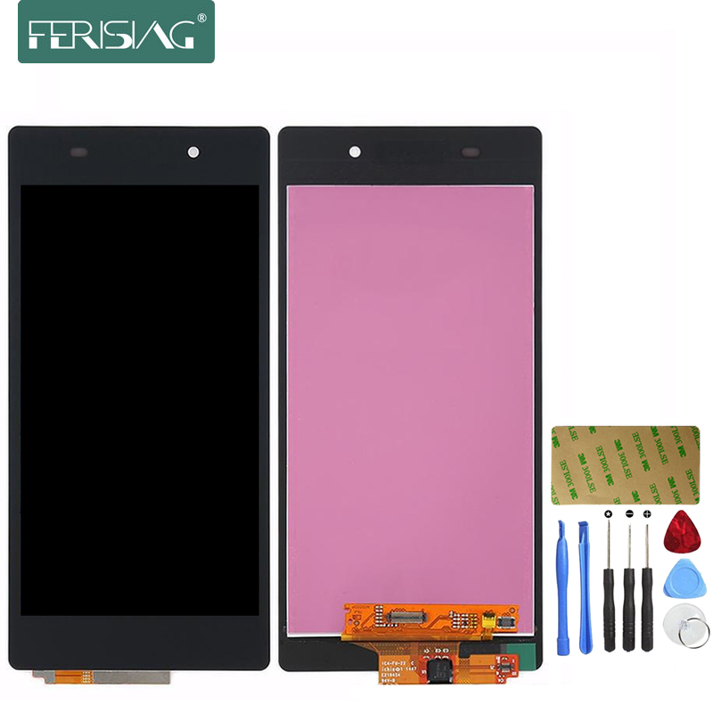 Подробнее о Ferising 100% AAA LCD Display For Sony Xperia Z2 L50W L50T D6503 Replacement Display Touch Screen Digitizer Assembly + Tool Kits ll trader highscreen 100% tested lcd screen for sony xperia z2 lcd display d6503 touch digitizer assembly full replacement parts
