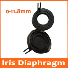 Big sale 0-11.8mm Amplifying Diameter Metal Zoom Optical Iris Diaphragm Aperture Condenser for Digital Camera Microscope Adapter