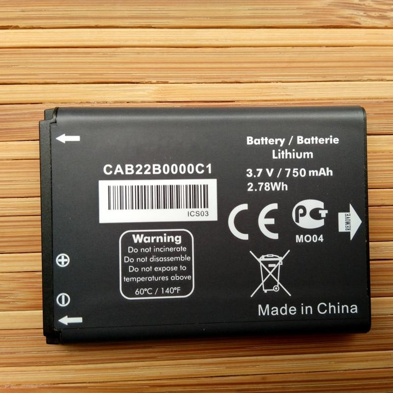 CAB22D0000C1 CAB22B0000C1 CAB3010010C1 Batterie Pour ALCATEL OT-2010 OT-2010D OT-2010X OT-356 OT-665X Batteries De Téléphones Portables