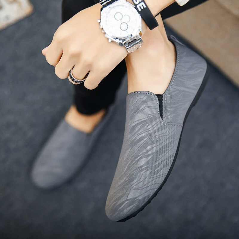 Puimentiua; модная новинка; мужская повседневная обувь; Мужская обувь; мужские кроссовки; мужская обувь на плоской подошве без шнуровки; лоферы из сетчатого материала; дышащая мужская обувь для вождения