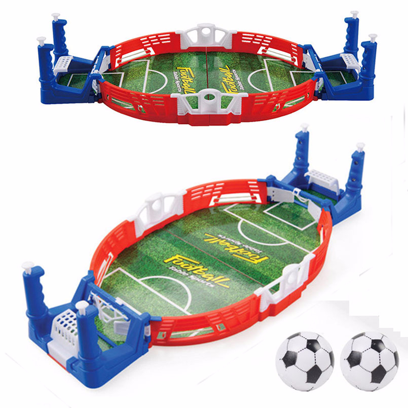 Mini Football Board Match Game Kit Tabletop Soccer Toys For Kids Educational Sport Outdoor Portable Table Games Play Ball Toys 1