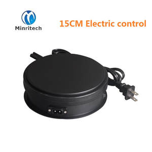 Display Rotation Plastic New Store 15cm H6cm Turntablefor-Product Dia Electric Direct-Selling
