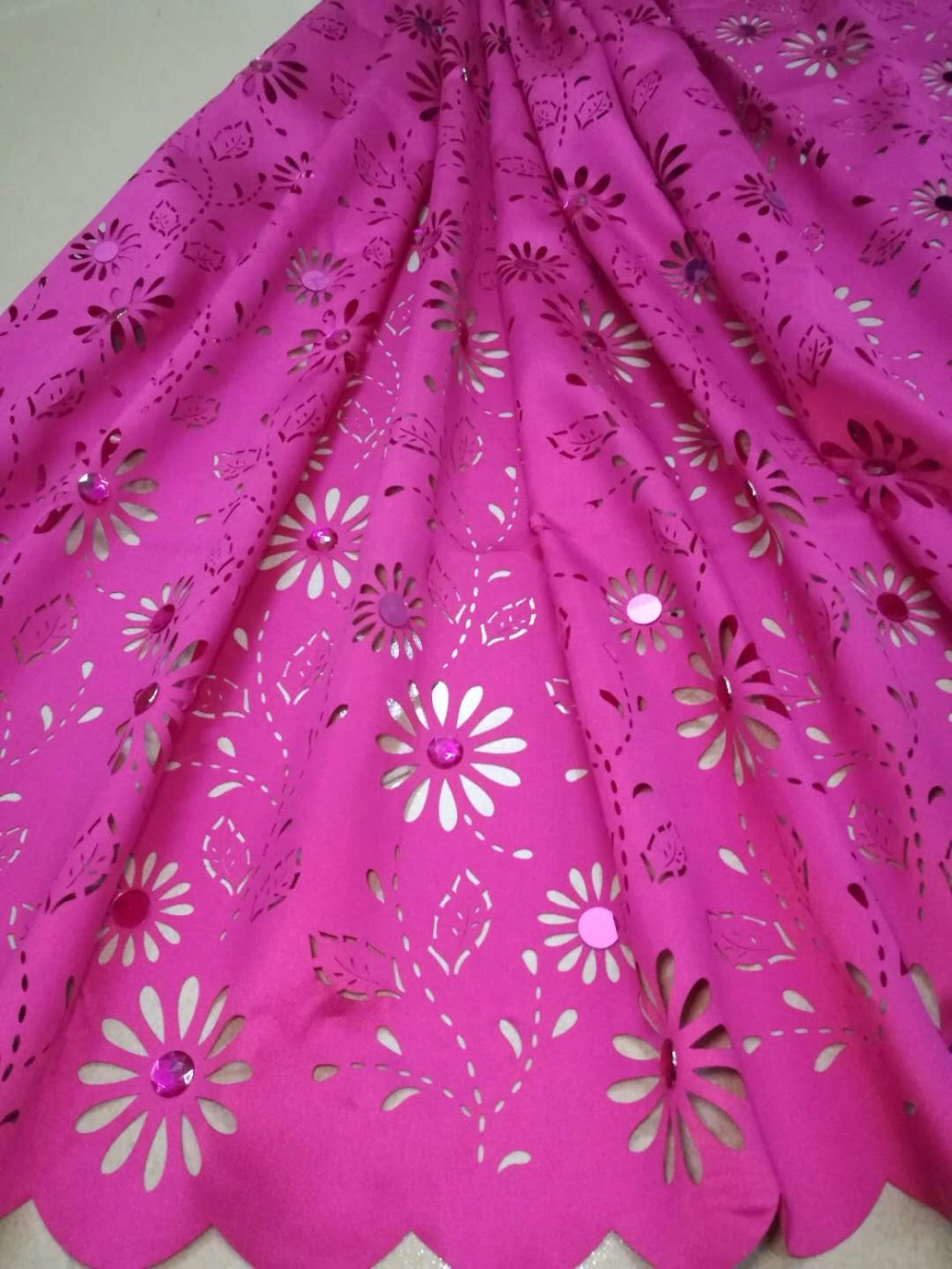 2018 Laser Cut Lace Fabric Hot Selling Nigerian Lace With Beads French Lace Materials For Wedding And Party 2018 Laser Cut Lace Fabric Hot Selling Nigerian Lace With Beads French Lace Materials For Wedding And Party