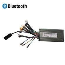 Электрический велосипедный Bluetooth контроллер 36 48 в 500 Вт Ebike Бесщеточный контроллер МОП-транзистора KT 9 Синусоидальная волна с функцией блоки...