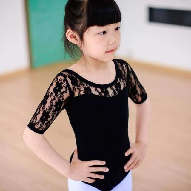a07ea9fd9f7c Child Kids Girl Ballet Dance Dress Lace Half Sleeve Gymnastics Leotard  Clothes-in Ballet from Novelty & Special Use on Aliexpress.com | Alibaba  Group