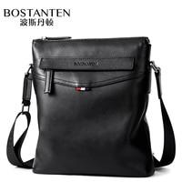 Bostanten 2018 New Style Men S Single Shoulder Bag Genuine Leather Vertical Design Business Casual Cow