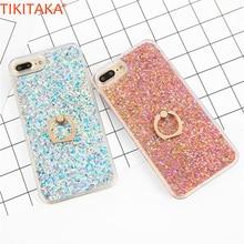 Love Heart Diamonds Dynamic Liquid Quicksand Phone Case For iPhone 5 5s SE Bling Glitter Carcasas Shining Powder Back Cover New