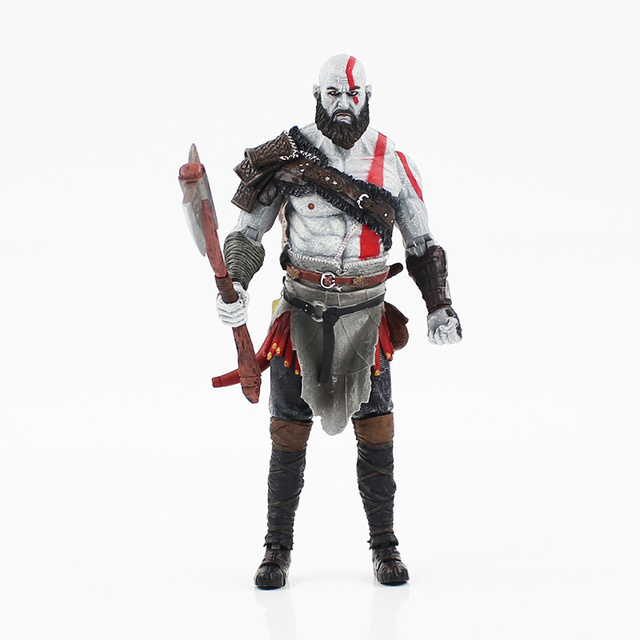 18CM NECA Kratos action figure model toy high quality collection for adult gift