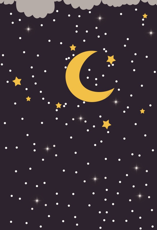 Laeacco Baby Moon Star Light Bokeh Children Photography Backgrounds Customized Photographic Backdrops For Photo Studio