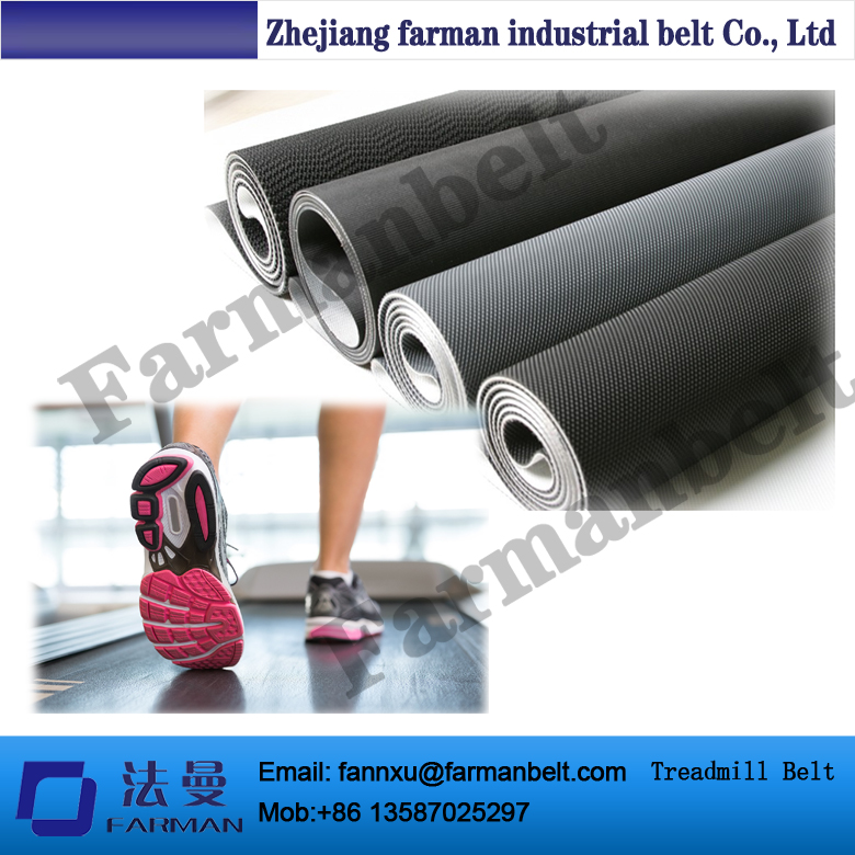 Customized Pvc Treadmill Conveyor Belt Running Belt Supplier top quality farman pvc treadmill belt with customized size