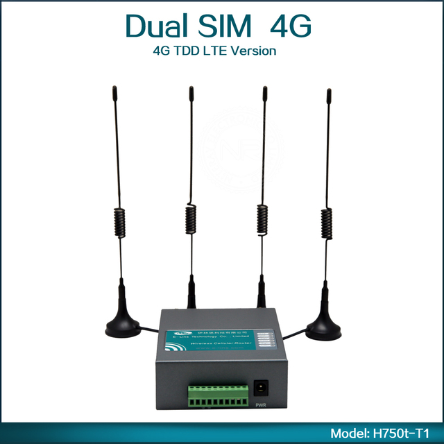4G TDD LTE 2600/2300/1900 (B38/B39/B40+B7) Wireless Router 4G Wifi Router ( Model: H750t-T1 )