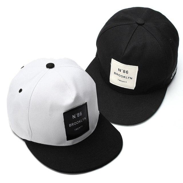 4b599eaa8d763 Unisex BROOKLYN Letters Hip Hop Baseball Caps Canvas Breathable Women Men  Patch Snapback Hat Bone Visor