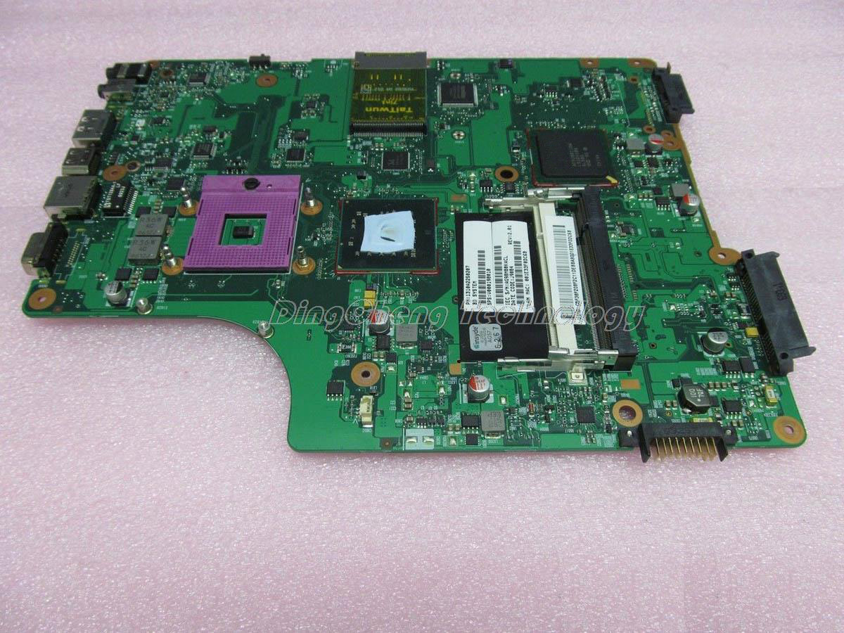 HOLYTIME laptop <font><b>Motherboard</b></font> For <font><b>Toshiba</b></font> A500 <font><b>A505</b></font> V000198010 CS10M-6050A2250201-MB-A02 DDR2 integrated graphics card 100% tested image