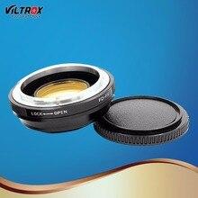 Viltrox FD-FX редуктор Скорость бустер оптический объектив адаптер для монтаж Canon FD Крепление объектива к Fuji FX X-Pro1 X-E2 X-M1 X-A SR/X-600 Камера