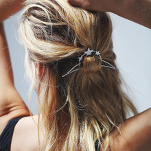 1 pcs font b Vintage b font Star Moon Shape Hairpin Women Bohemian Arrow font b