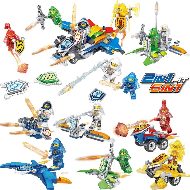 Toys & Hobbies Building Blocks Compatible Legoinglys Figures New Ninjago Series Ninjago Knight Educational Construction Gift Toys For Children Bright Luster