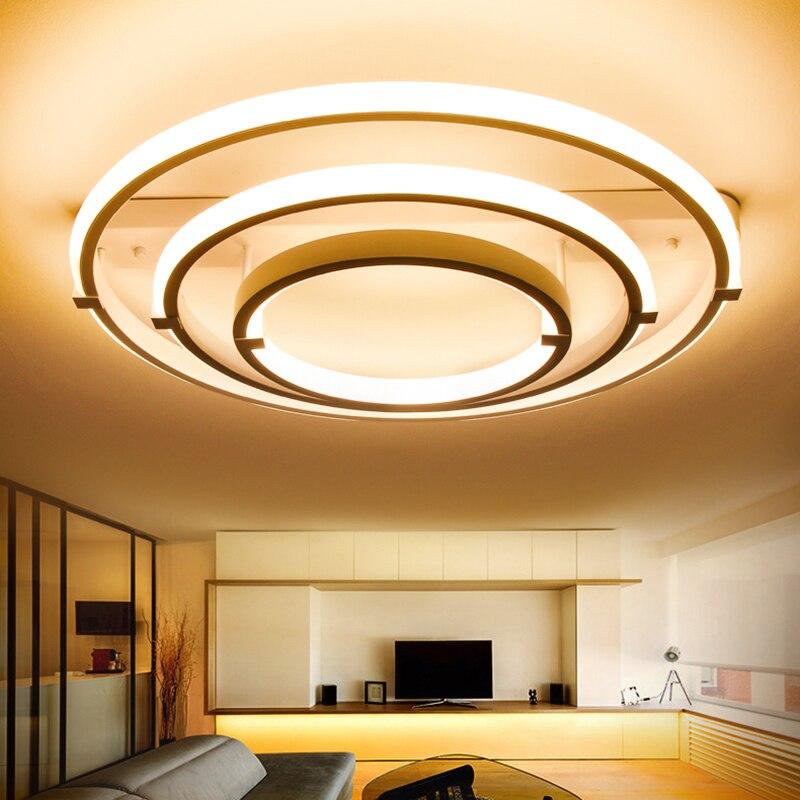 Acrylic Modern led ceiling lights for living room bedroom home Lighting ceiling lamp home lighting light fixtures