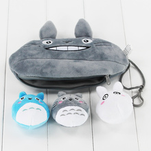 Anime My Neighbour Totoro Plush Toy 3 in 1 Pea Pod Bag Gift Bag Soft Stuffed Toys Free Shipping