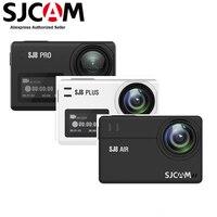 SJCAM-Cámara de acción SJ8 Air & SJ8 Plus Pro 4K 30fps Ultra HD, impermeable, Wifi, Pantalla remota táctil de 2,33 pulgadas, deportes DV