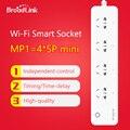 Broadlink mp1 4-outlet tomada wi-fi poder de controle remoto soquete de energia para o sistema de automação residencial inteligente