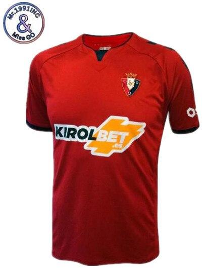 Mr.1991INC T-shirt 2019/20 Novo Osasuna camisa camisas Casuais 2019 2020 red camisas de Lazer Melhor Qualidade