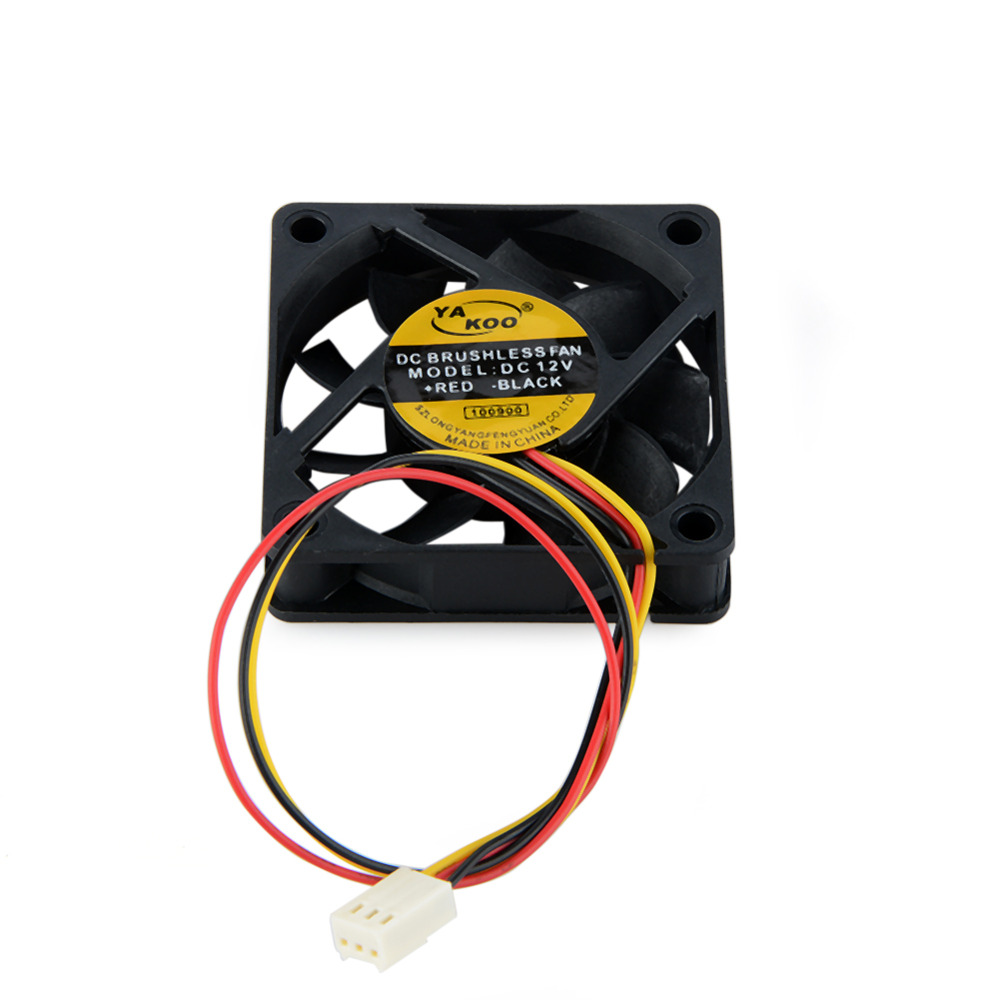 3Pin DC 12V 60*60mm Laptops Cooling Fans For Notebook Computer Cooler Fans Replacement Accessories P0.11 1