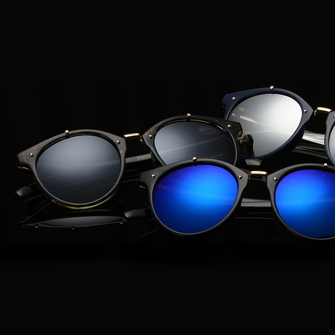 e3e34f1bb1 2019 Luxury Round Sunglasses For Women Men Vintage Sun Glasses Female Male  Lady Sunglass Mirror Sun Glasses For Women Men oculos-in Sunglasses from  Apparel ...