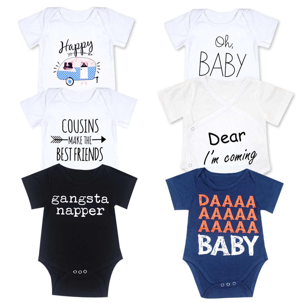 0b49571e9 Detail Feedback Questions about 2018 Newborn Short Sleeve White Baby ...
