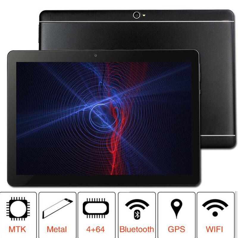 2019 10.1 «Comprimés WIFI 8 Octa Core 32 gb ROM Google Android 7.0 10 Tablet PC 3g 4g LTE 1280X800 GPS bluetooth téléphone MT8752