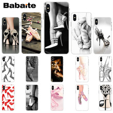 Babaite High heels heeled shoes ballerina TPU Soft Silicone Phone Case Cover  for Apple iPhone 8 30d8212a2154