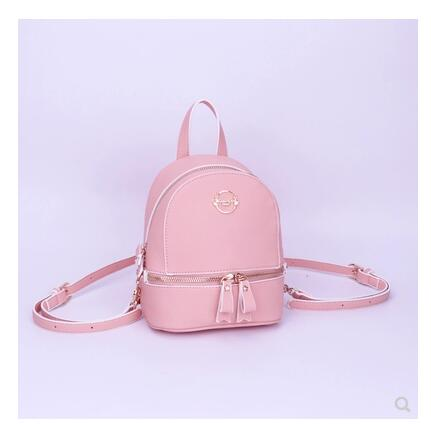 2018 New fashion Anime Card Captor Backpacks mini Bookbags pu lether pink cute Backpack sweet lady School Bag anime card captor sakura the clow kero backpack girls shoulder bag pink cute travelling bag