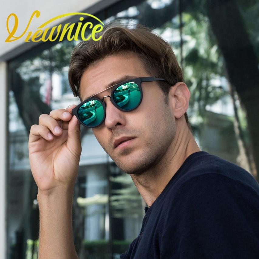 2017 Új napszemüveg nők férfiaknak Vintage divat Polarizált 09 Kerek zenekar Fa üveg Szemüvegek, szolárium női horgászat