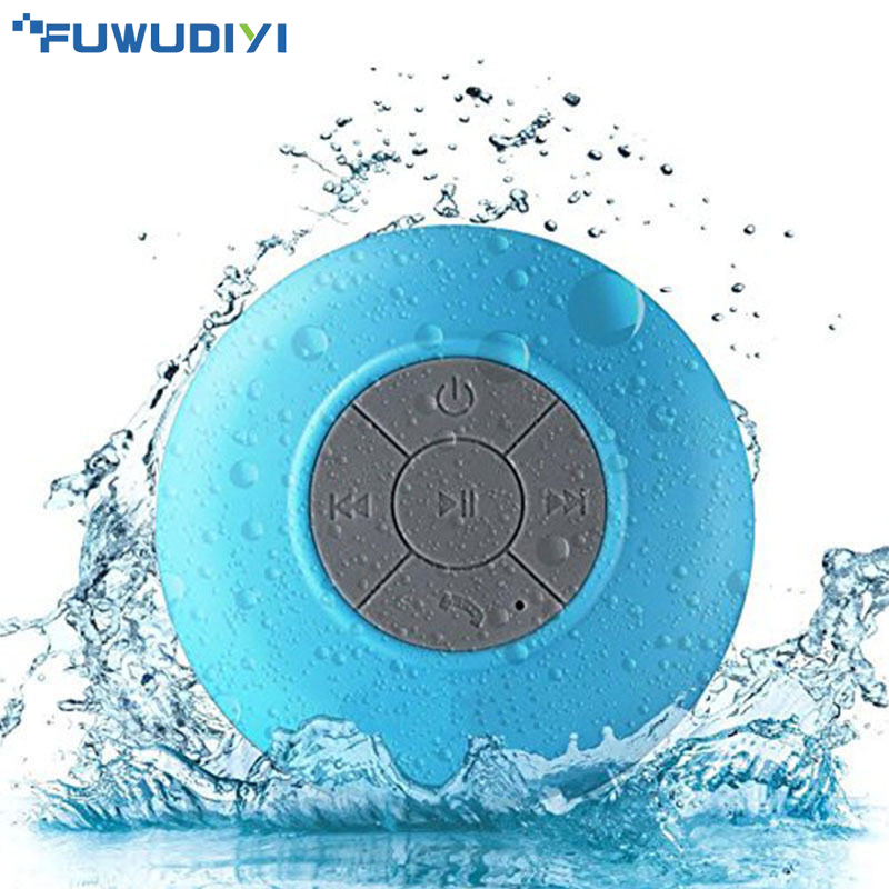 Portable Wireless Bluetooth Speakers Mini Waterproof Shower Speaker for iPhone MP3 Handfree Car Speaker Bluetooth Receiver speakstick waterproof bluetooth shower speaker talk wireless