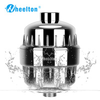 Household Kitchen Bathroom Shower Filter Small Style Bathing Water Purifier Health Softener Chlorine Removal Free Shipping