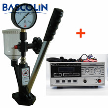 цены tester injector Common Rail Injector Nozzle Tester S60H Test kit CR-C Injector Drive tester injector common rail