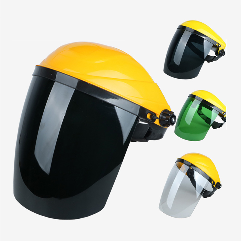 Full Face Electric Welding Protective Mask Face Shield Dustproof Gas Maske Outdoor Safety Work Heads Welding Glasses