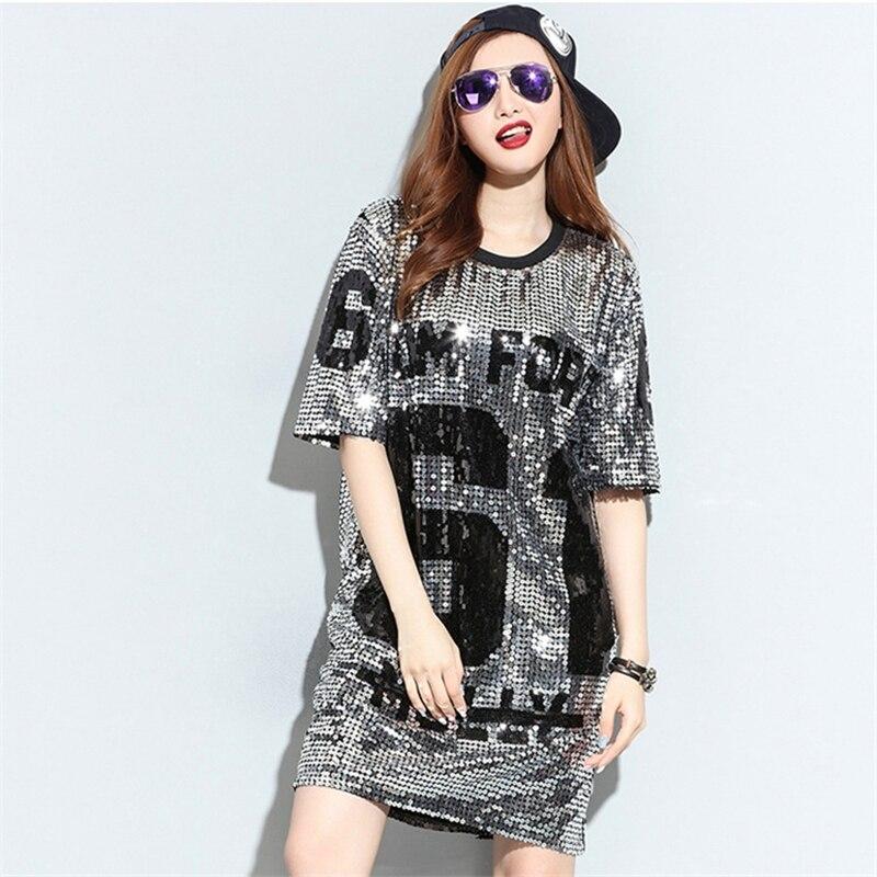 Popular Sequin T Shirt Dress-Buy Cheap Sequin T Shirt Dress lots ...