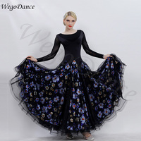 Custom Madden Dance Dress National Standard Performance Performance ballroom dance dresses woman