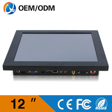 12» embedded computer Resistive touch screen Resolution 800×600 4gb ddr3 32g ssd industrial PC with intel C1037U