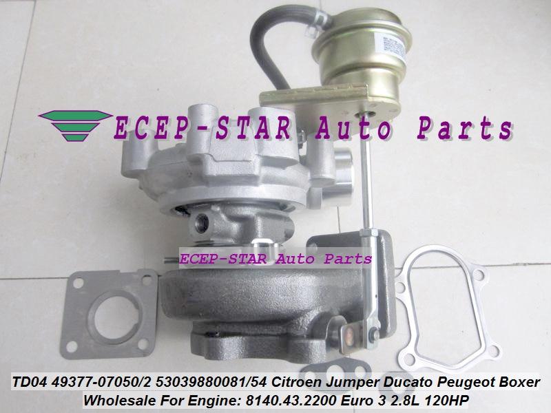 jc-Turbo TD04 49377-07050 49377-07052 53039880081 53039880054 0375F6 Turbocharger (2)