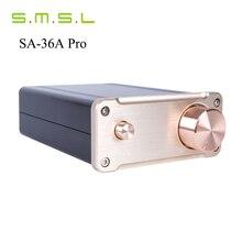 Новый SMSL SA-36A Pro 20WX2 TDA7492PE HIfi Аудио Цифровой Усилитель Класса d Усилитель Мощности С 12 В Питания Бесплатно доставка